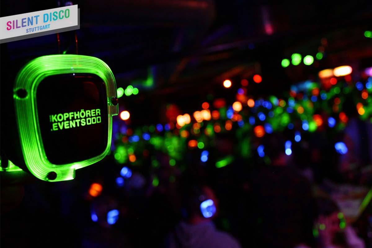 Silent Disco Stuttgart Kopfhörer Party von Kopfhörer Events Deutschland