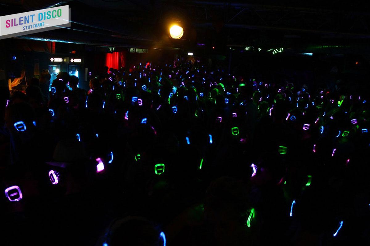 Silent Disco Stuttgart Crowd