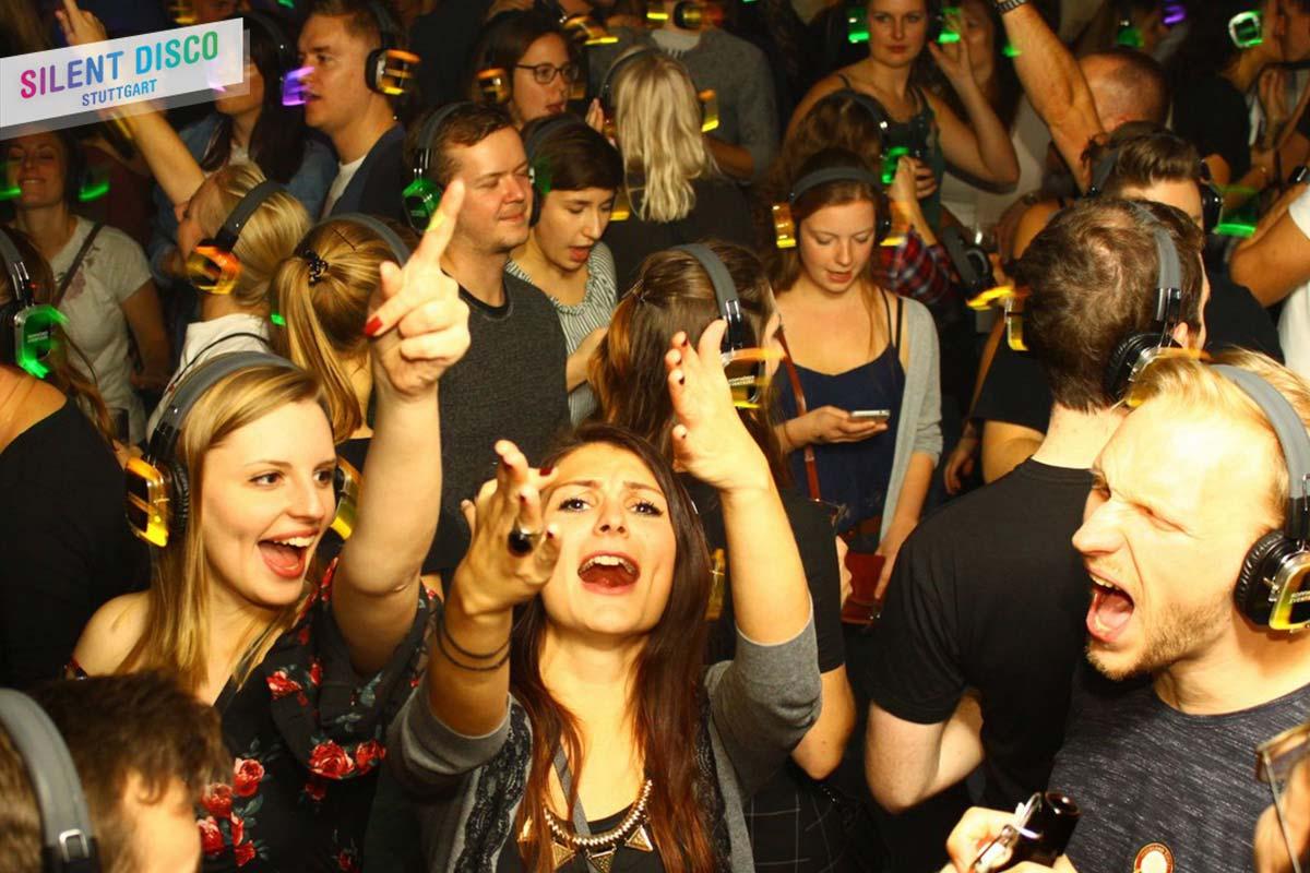 Silent Disco Stuttgart zum Mitsingen