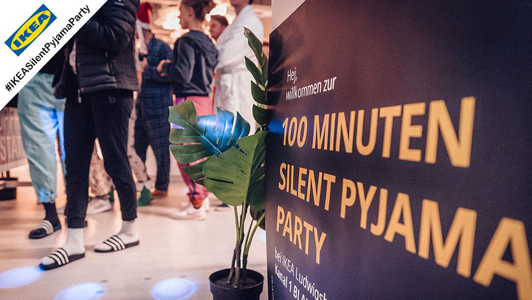 Silent Disco Pyjama Party bei IKEA in Ludwigsburg
